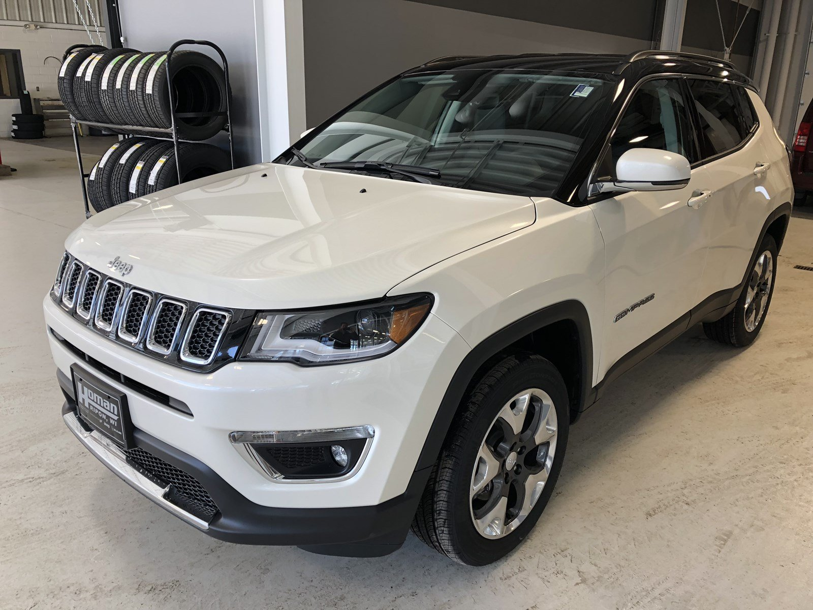 New 2018 JEEP Compass Limited Sport Utility in Ripon #RJ8076 | Homan Chrysler Dodge Jeep Ram of ...